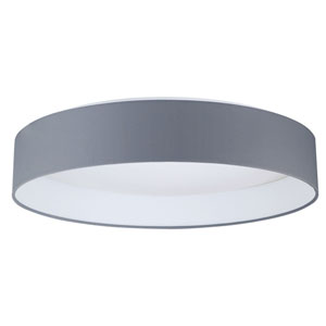 Palms Black LED Flush Mount