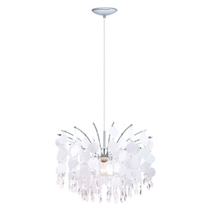 Fedra Chrome One-Light Chandelier