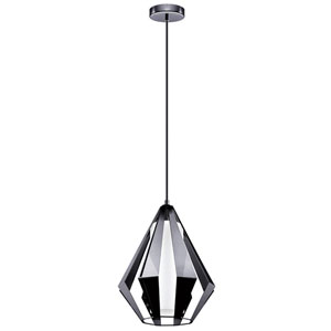 Taroca Black Chrome One-Light Pendant