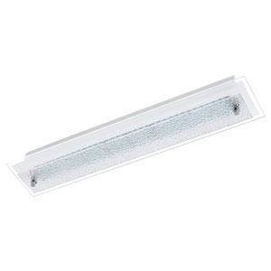 Priola LED 24-Inch Matte Nickel One-Light Flushmount