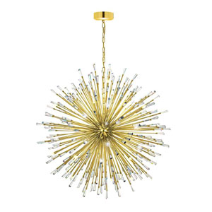 Vivaldo Gold Plated 50-Light Pendant
