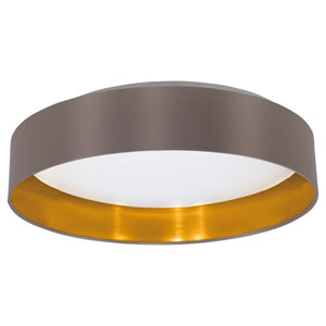 Maserlo LED Satin Nickel One-Light Flushmount