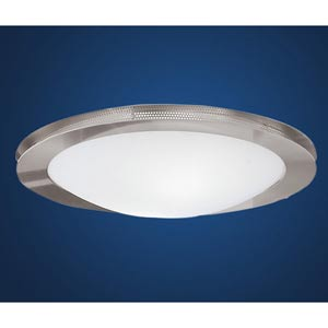 Sirio Matte Nickel Two-Light Wall/Ceiling Light