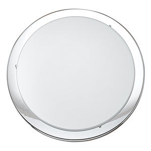 Planet Chrome Two-Light Ceiling or Wall Light