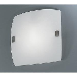 Aero Matte Nickel One-Light Wall/Ceiling Light