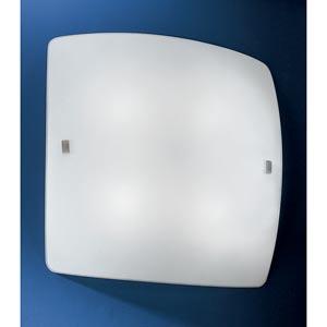 Aero Matte Nickel Four-Light Wall/Ceiling Light