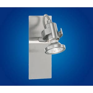 Tukon 1 Matte Nickel One-Light Directional Spotlight