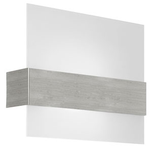 Nikita Matte Nickel One-Light 11-Inch Wall Sconce