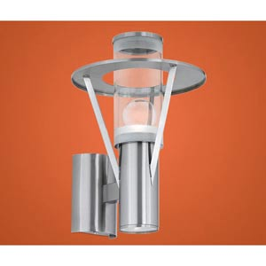 Belfast Silver One-Light Outdoor Wall Sconce