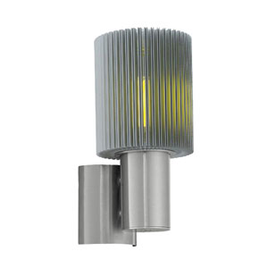 Maronello Aluminum One-Light Outdoor Wall Sconce