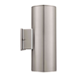 Ascoli Stainless Steel LED Two Light Wall Sconce