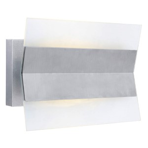 Xennia Stainless Steel 11.38-Inch LED Outdoor Wall Sconce