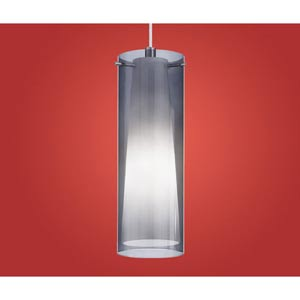 Pinto Nero Chrome One-Light Mini Pendant