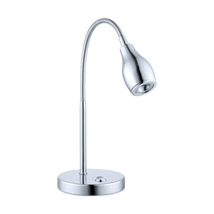 Naira Chrome LED 4.75-Inch Wide Table Lamp