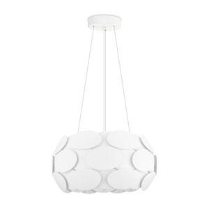 Montorio White Three-Light Pendant