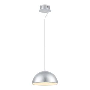 Gaetano Silver One Light 15-Inch Wide LED Pendant