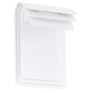 Sojo LED White Two-Light Outdoor Wall Sconce