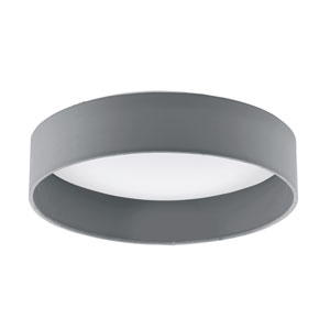 Palomaro LED 13-Inch Gray One-Light Flushmount