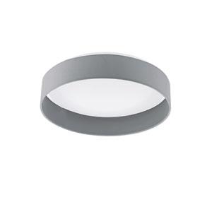 Palomaro LED 16-Inch Gray One-Light Flushmount