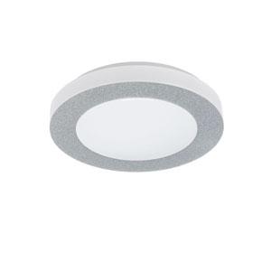 Carpi 1 Chrome 3-Inch One-Light LED Flush Mount