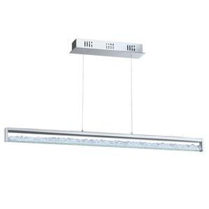 Cardito 1 Chrome 39.5-Inch Six-Light LED Pendant