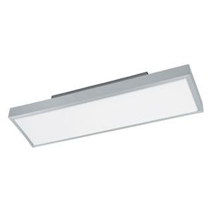 Idun 1 Brushed Aluminum 23-Inch One-Light LED Flush Mount