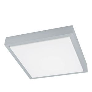 Idun 1 Brushed Aluminum 11-Inch One-Light LED Flush Mount