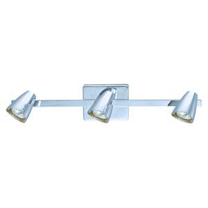 Corbera Chrome 23-Inch Three-Light Track Light