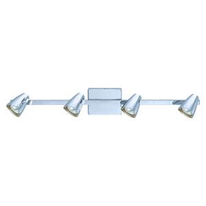 Corbera Chrome 31-Inch Four-Light Track Light