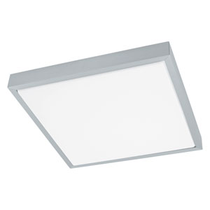 Idun 1 Brushed Aluminum 15-Inch One-Light LED Flush Mount