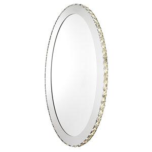Toneria LED 25-Inch Chrome Nine-Light Mirror