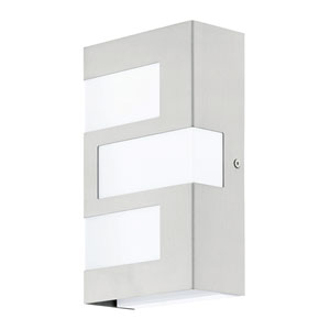 Ralora Stainless Steel 5.5-Inch Three-Light LED Outdoor Wall Sconce