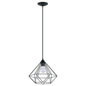 Tarbes 13-Inch Matte Black One-Light Pendant