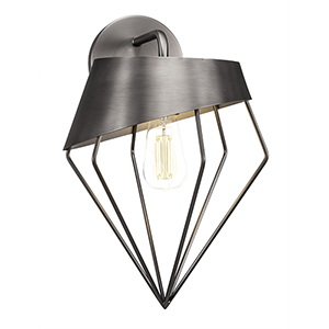 Neo Chrome 27-Inch One-Light Wall Sconce