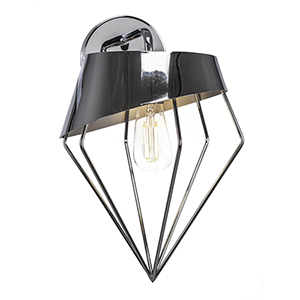 Neo Chrome 11-Inch One-Light Wall Sconce