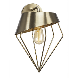 Neo Brushed Nickel 11-Inch One-Light Wall Sconce