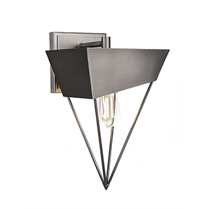 Neo Chrome 21-Inch One-Light Wall Sconce