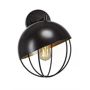 Neo New Age Brass 27-Inch One-Light Wall Sconce