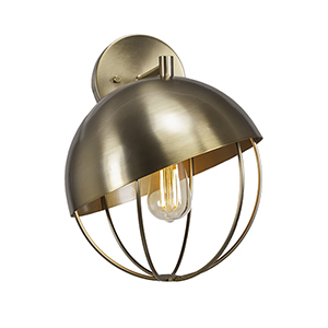 Neo Brushed Nickel 29-Inch One-Light Wall Sconce