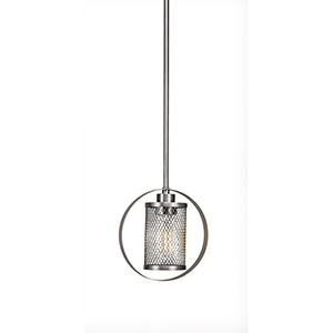 Infinity Chrome 37-Inch One-Light Pendant