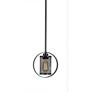 Infinity New Age Brass 37-Inch One-Light Pendant