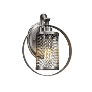 Infinity Chrome 39-Inch One-Light Wall Sconce