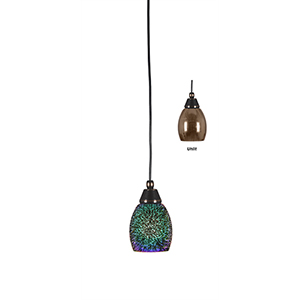 Any Black Copper Five-Inch One-Light Mini Pendant