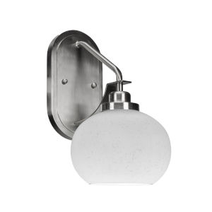 Odyssey Brushed Nickel Seven-Inch One-Light Wall Sconce