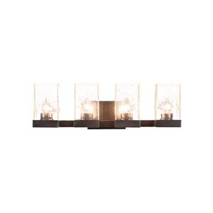 Nouvelle Graphite 24-Inch Four-Light Bath Vanity