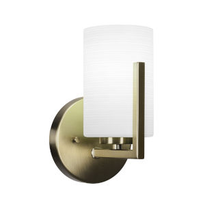Atlas New Age Brass Five-Inch One-Light Wall Sconce