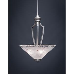 Zilo Graphite 16-Inch Three-Light Pendant