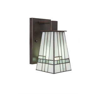 Apollo Dark Granite One-Light Wall Sconce