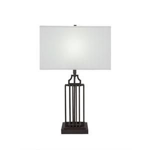 Sky Loft Dark Granite One-Light 8-Inch Table Lamp