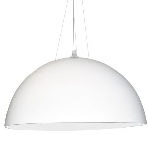 White Three-Light Pendant